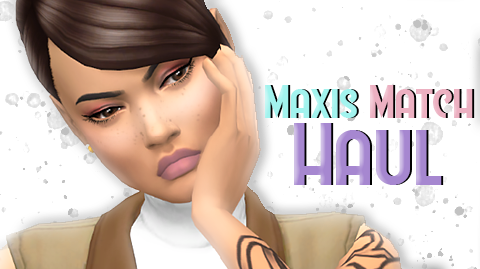 The Sims 4: Custom Content || MAXIS MATCH CC FINDS - SpringSims